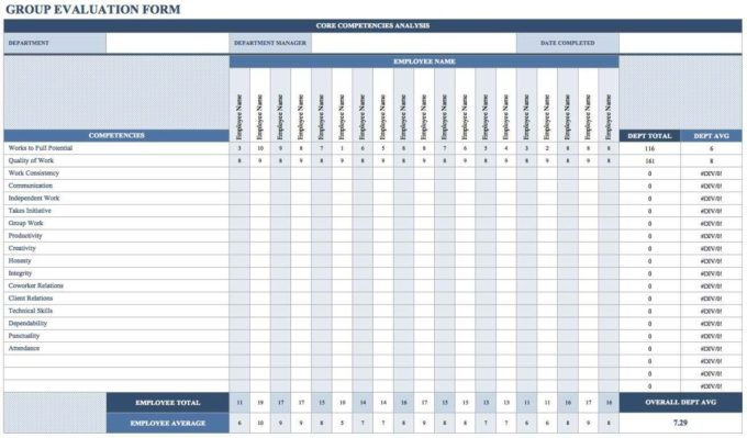 Employee Training Tracker Excel Template Save Template