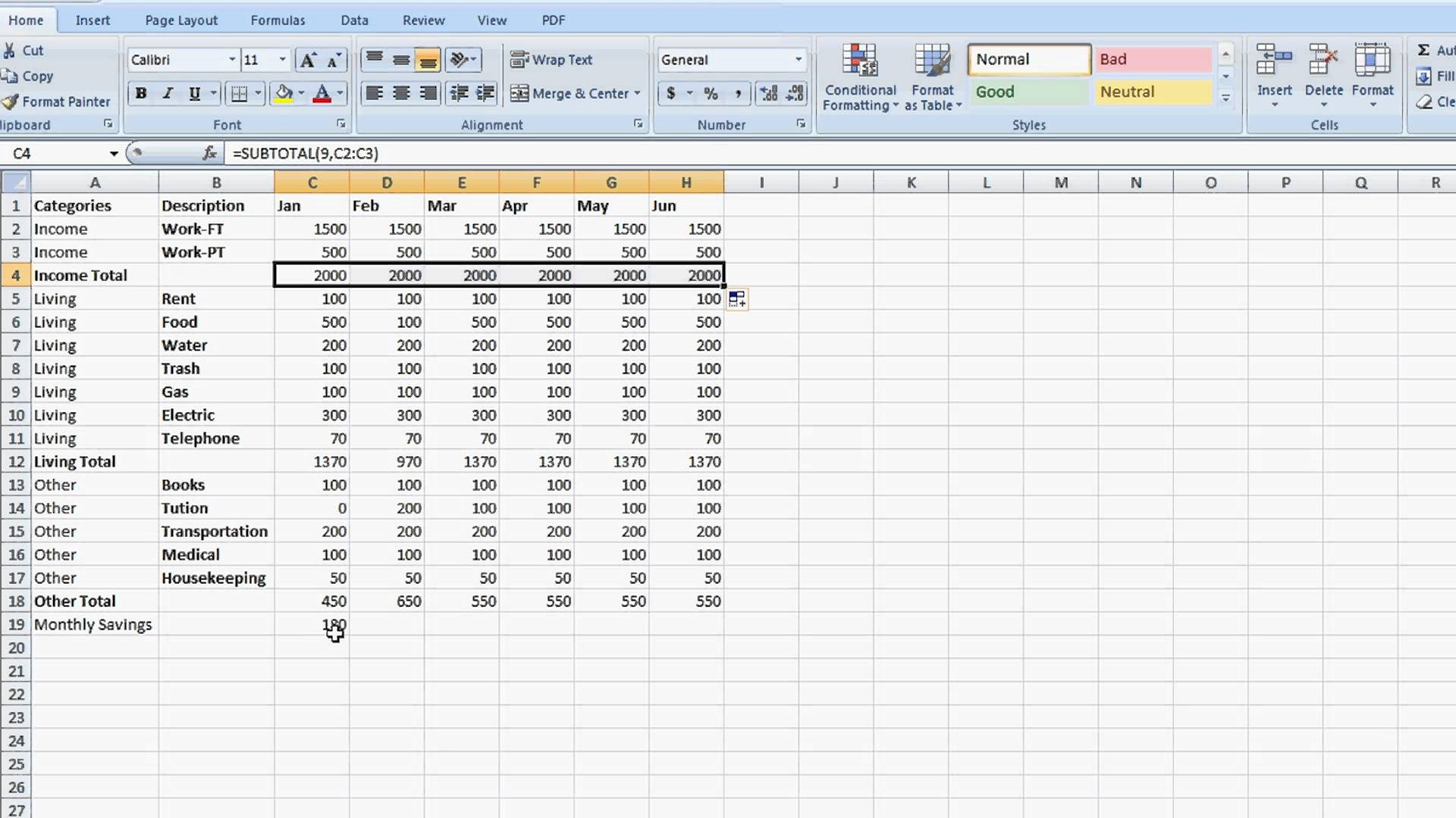 How To Create An Excel Spreadsheet With Formulas Free