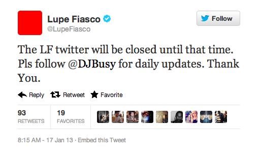 Lupe Fiasco tweets 3/3