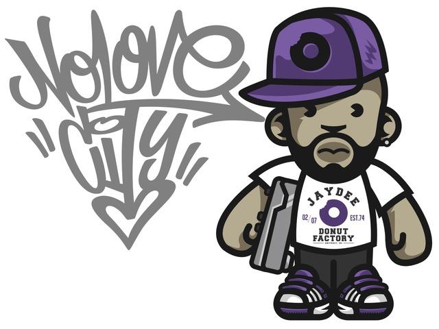 no-love-city-j-dilla-t-shirt