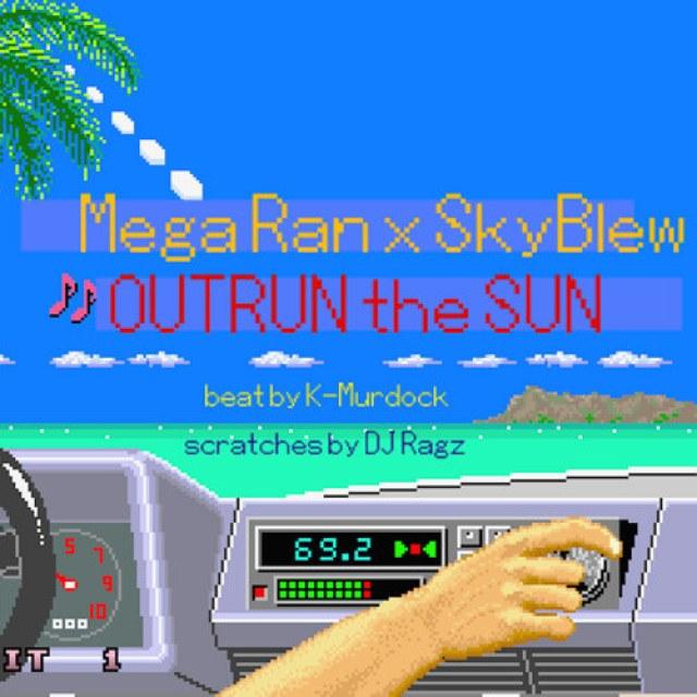 mega-ran-skyblew-outrun-the-sun