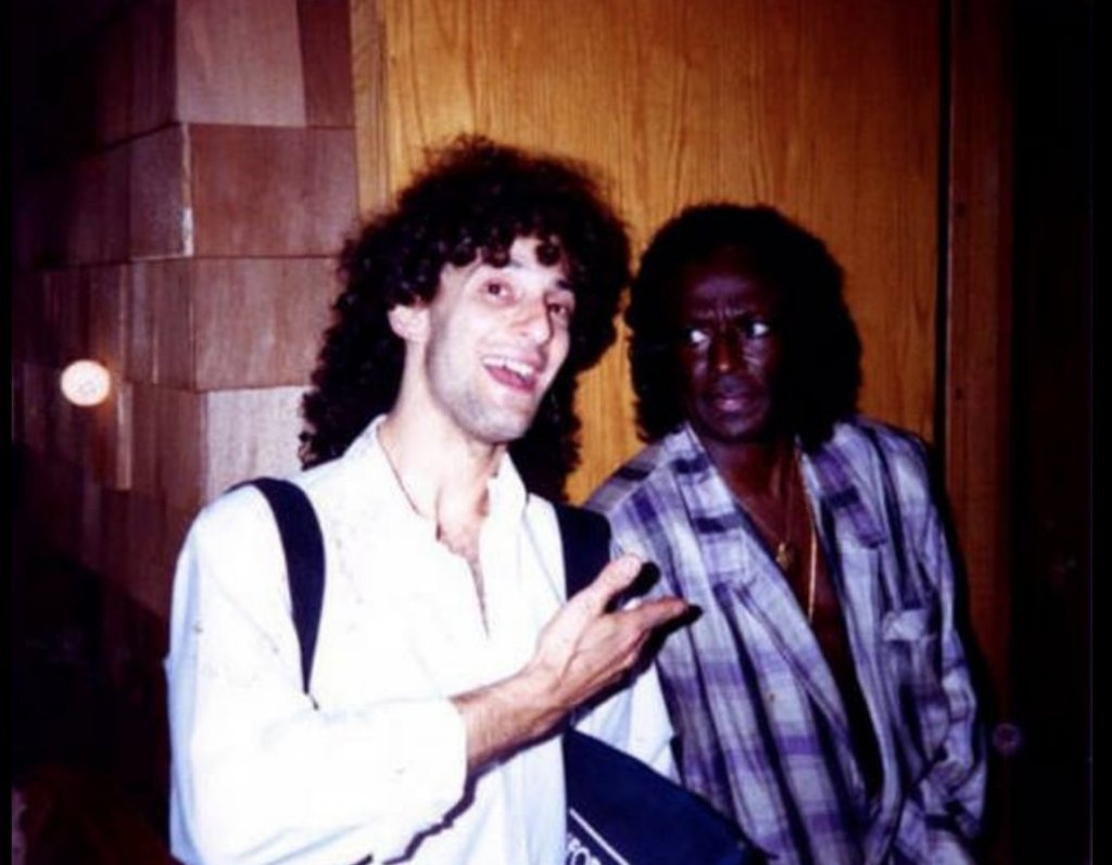 Kenny G and Miles Davis