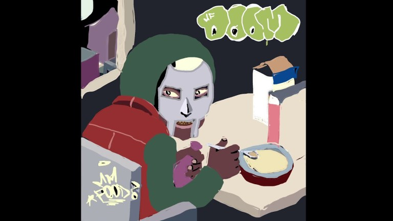 A MS Paint version of MF DOOM's MM.. FOOD album cover