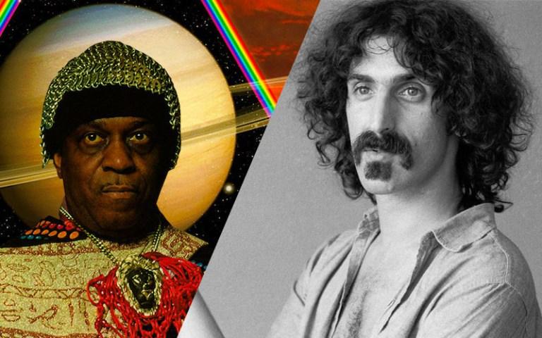 Sun Ra and Frank Zappa