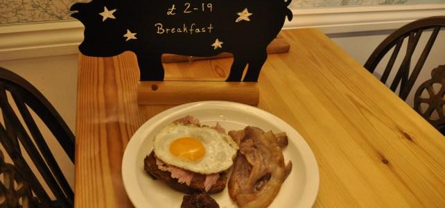 Breakfast for £2.19?  Emmett's New Year breakfast deal is back