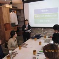 榮村幸子様 4/13プレセミナー アンケート