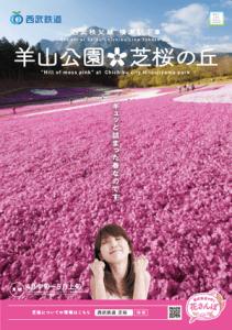 西武鉄道 花さんぽ・パンフレット コピー