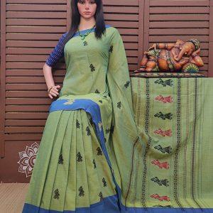 Chellam - Gollabama Buta Cotton Saree