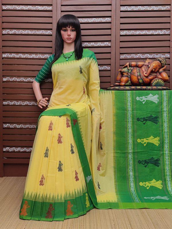 Gunanidhi - Gollabama Cotton Saree