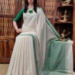 Hemalatha - Handspun Jute Cotton Saree