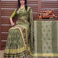 Karisha - Mutyam Gadi Cotton Saree
