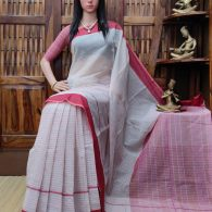 Lipsitha - Jamdani Cotton Saree