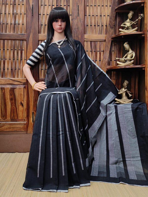 Ilesha - Jamdani Cotton Saree