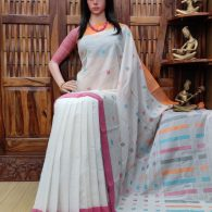 Indukala - Jamdani Cotton Saree