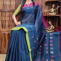 Jaagariti - Jamdani Cotton Saree