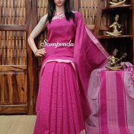 Jayanthasena - Jamdani Cotton Saree