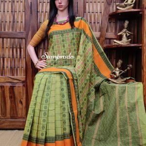 Abhitha - Kanchi Cotton Saree