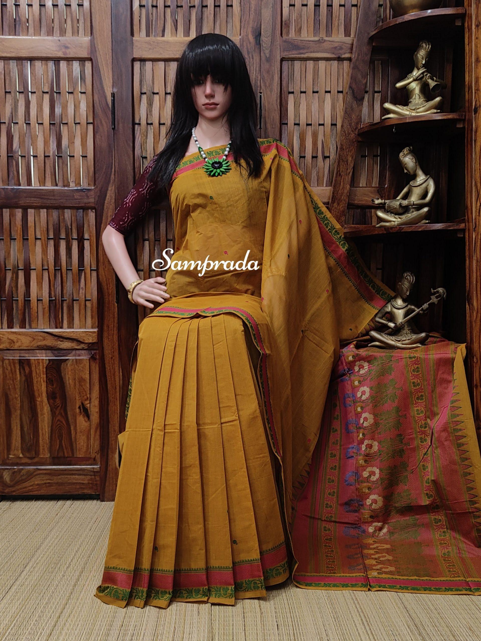 Agrata - Kanchi Cotton Saree