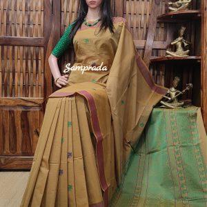 Ananda - Kanchi Cotton Saree