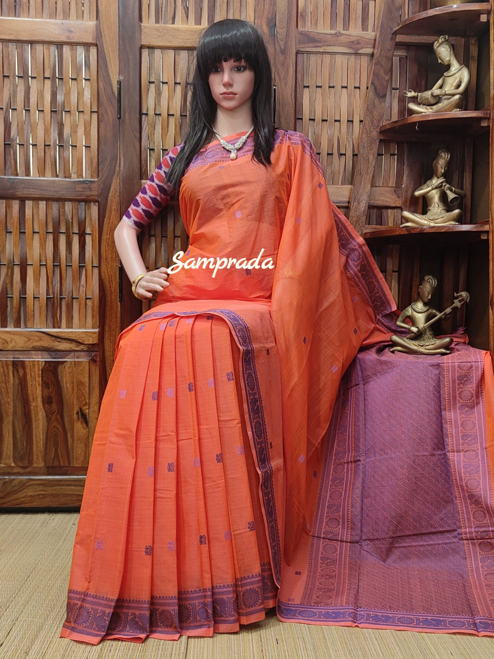 Anarghya - Kanchi Cotton Saree