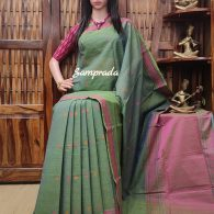 Anashwara - Kanchi Cotton Saree
