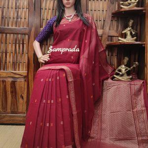 Anhati - Kanchi Cotton Saree