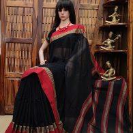 Maalya - Mercerized Pearl Cotton Saree