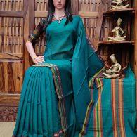 Malaya - Mercerized Pearl Cotton Saree