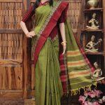Manditha - Mercerized Pearl Cotton Saree