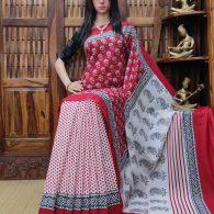 Maanushi - Mulmul Cotton Saree