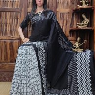Madhumalli - Mulmul Cotton Saree