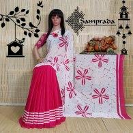 Niksha - Mulmul Cotton Saree