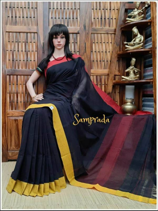 Purnita - Patteda Cotton Saree