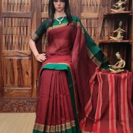 Deepshikha - Pearl Cotton Saree