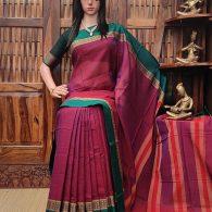 Desharanjini - Pearl Cotton Saree