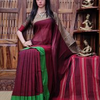 Dhamini - Pearl Cotton Saree