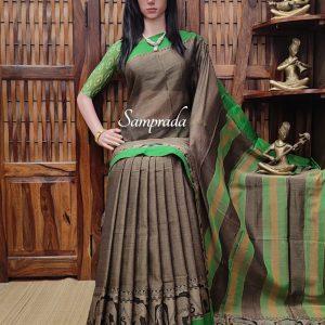 kuthuhala - Pearl Cotton Saree