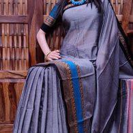Theertha - Pearl Cotton Saree