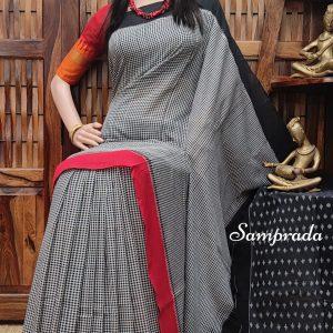 Premaa - Ikkat Cotton Saree