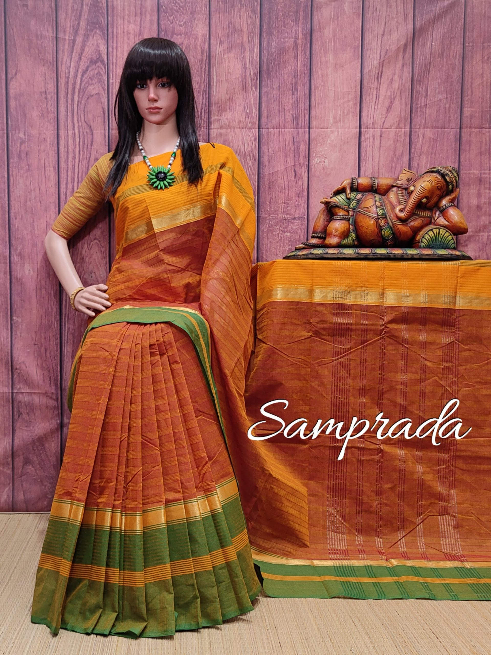 Sadrishii - South Cotton Saree