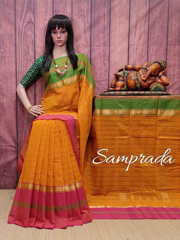 Sankula - South Cotton Saree