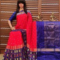 Aswini - Ikkat Silk Saree