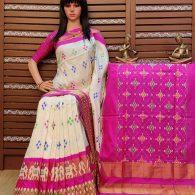 Rupali - Ikkat Silk Saree
