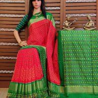 Sonakshi - Ikkat Silk Saree