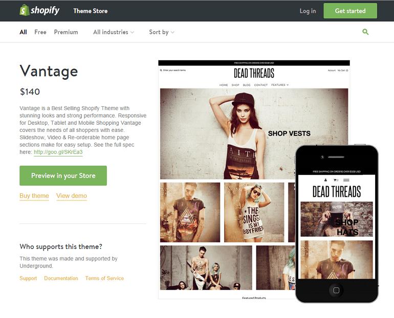 t-shirt printing business shopify theme