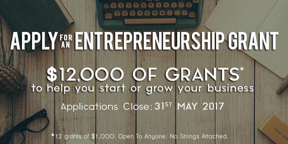 Entrepreneurship Grants – $12,000 To Help You Start Your Business