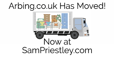 The Arbing Blog Has Moved! Bookmark SamPriestley.com!