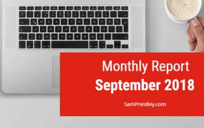 My Monthly Report – September 2018