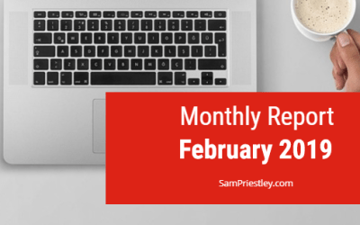 My Monthly Report – February 2019