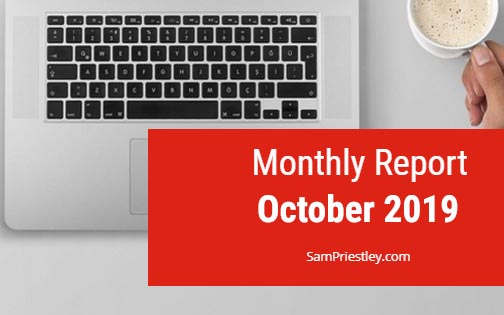 My Monthly Report – October 2019